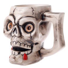 SGZC Creative Articles Of Daily Use Skull Ceramics Cup 80159-E (Intl)