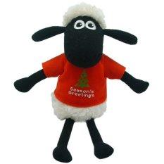 Shaun The Sheep - Shaun with T-shirt Season's Greetings
