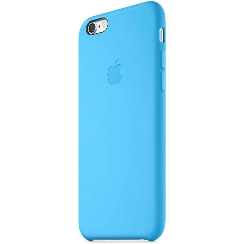Silicone Case for iPhone 6 Plus 5.5 Inch Blue