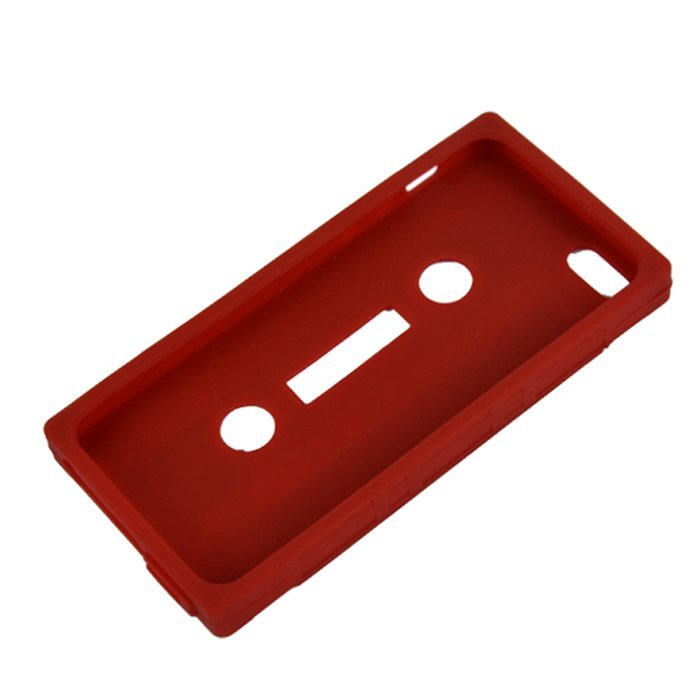 Silicone Gel Case Skin Protector for iPhone 5 5s (Red) (Intl)