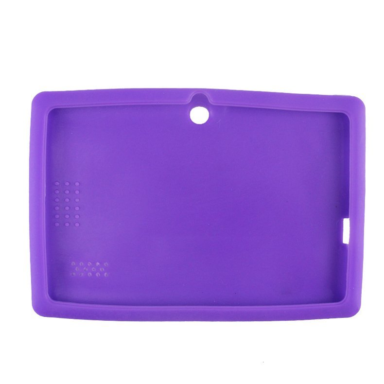 Silicone Gel Protective Case for 7 Inch Tablet (Purple)