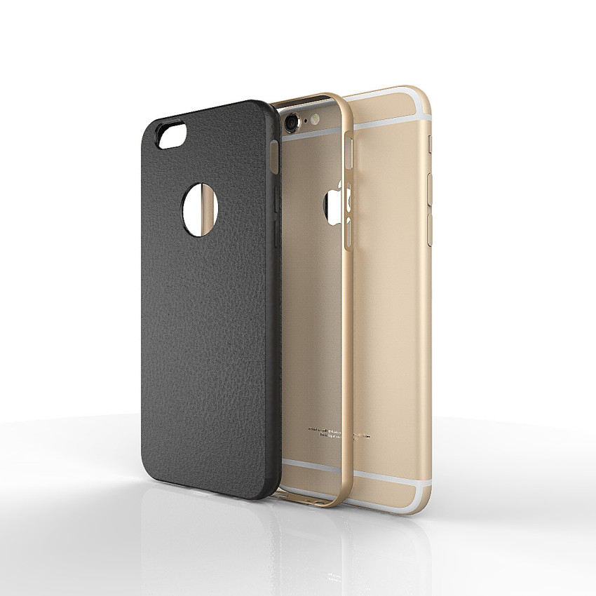 Silicone Metal Frame + Hard PC Hybrid Armor Slim Logo Case for iPhone 5 5S 5G Gold (Intl)