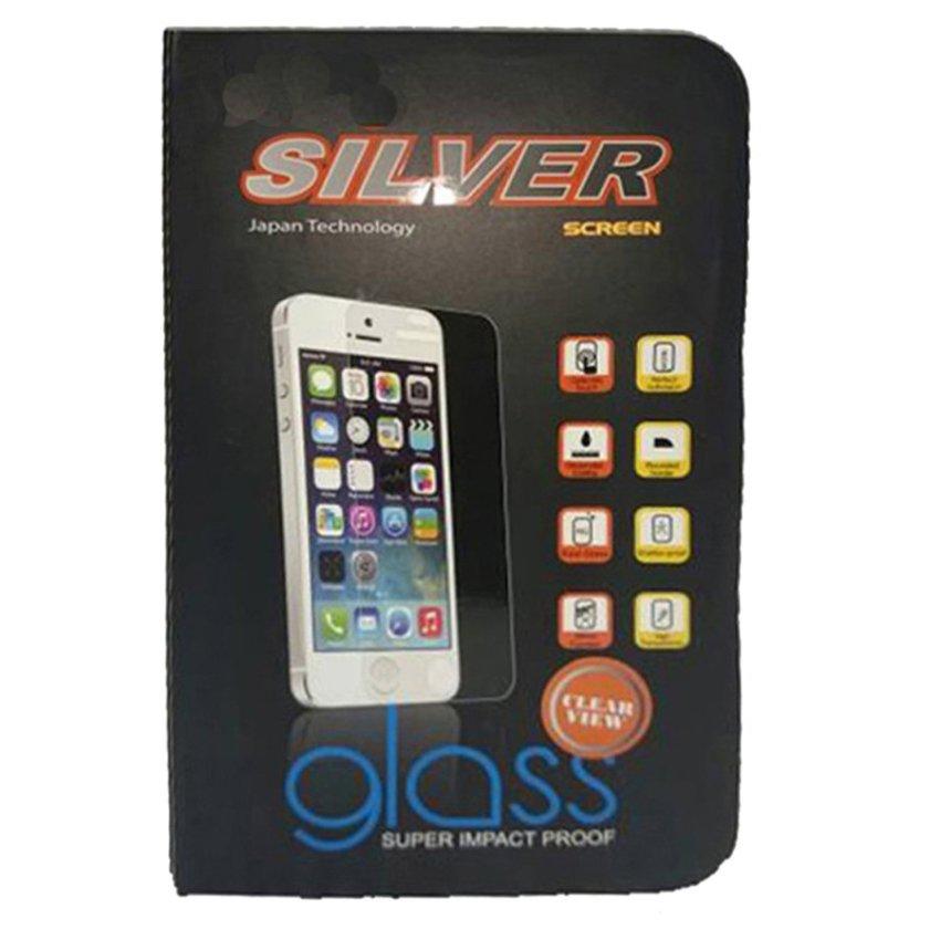 Silver Meizu M2 Note TEMPERED GLASS - Clear