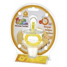 Simba Baby Massage Pacifier / Soother - Kuning Putih