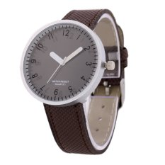 Simple Digital Watches Brown Glass Dish