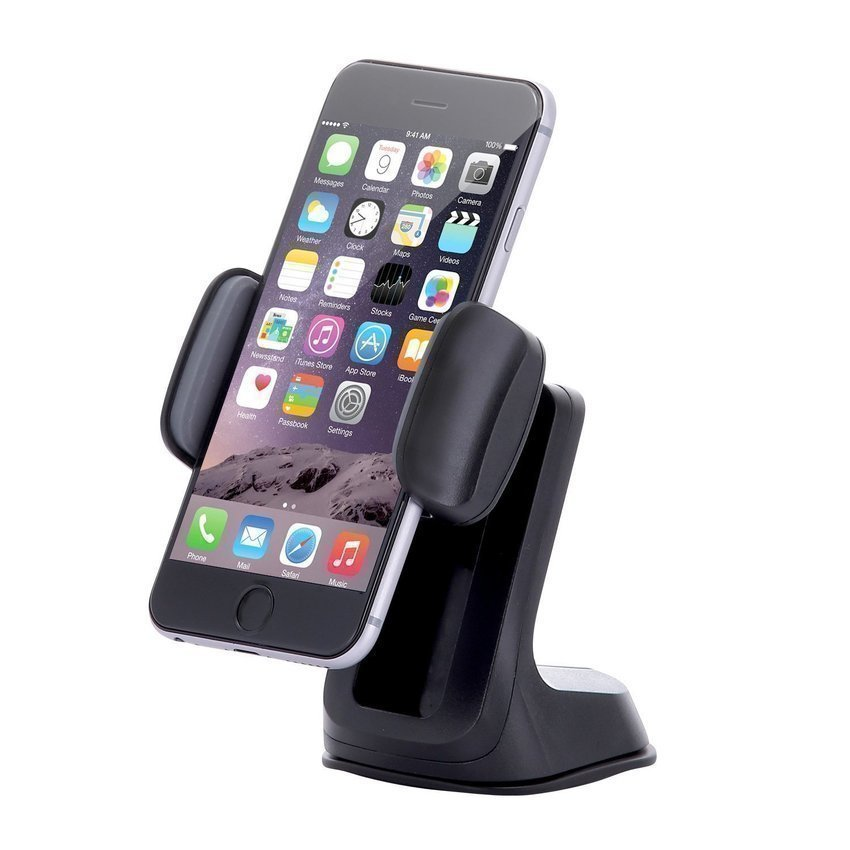 SINOKAL Dashboard Windshield Phone Car Mount Universally Fit for All Smartphones (Black) (Intl)