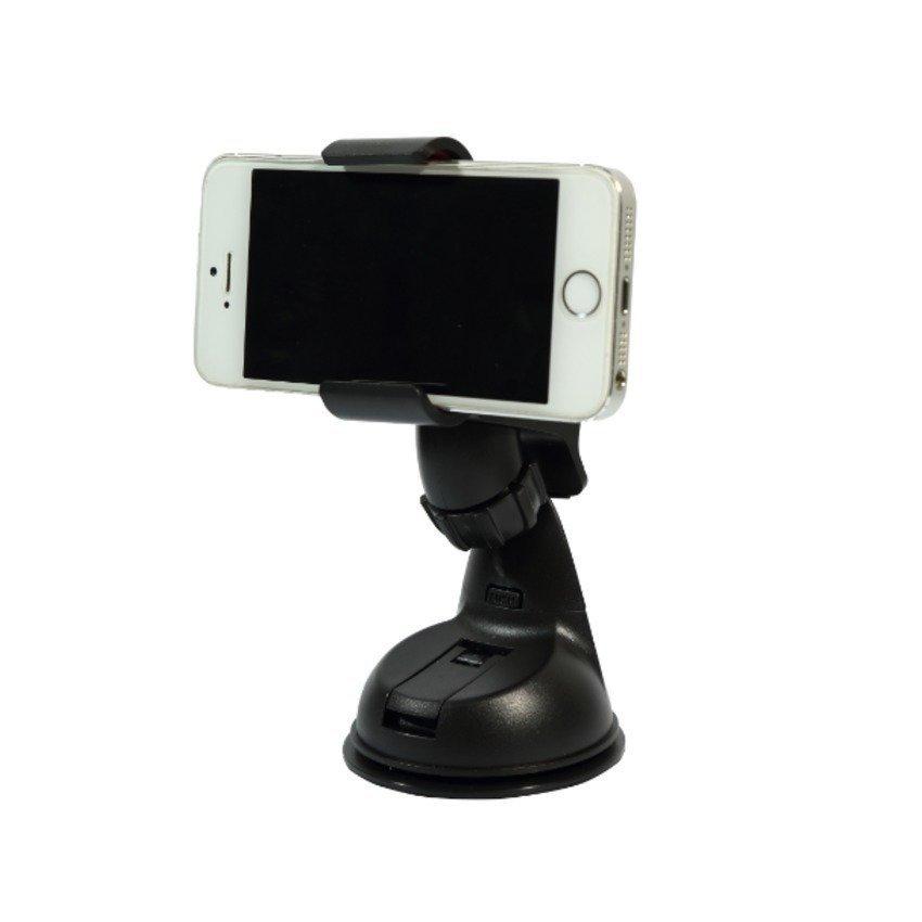 SINOKAL Universal Dashboard Windshield Car Cradle Holder Mount for All Kind of Phones (Black) (Intl)