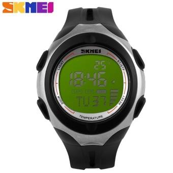 SKMEI Pioneer Sport Watch Water Resistant 50m - DG1080T - Black / Green