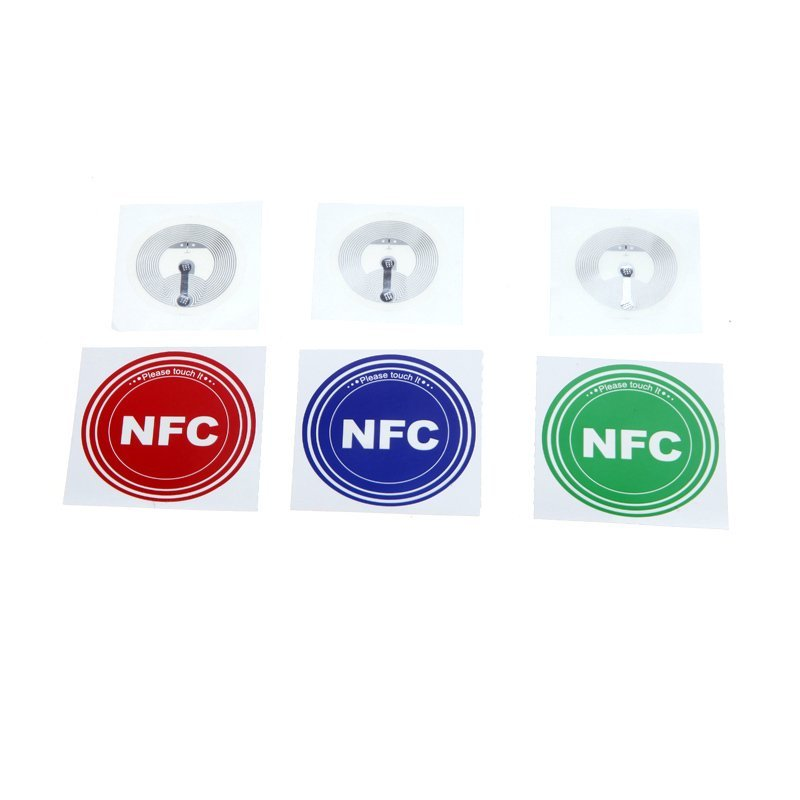 Smart NFC Tags Sticker for Samsung Galaxy S5 S4 Note III Nokia Lumia 920 Sony Xperia Nexus 5 Nexus 4 Set of 3