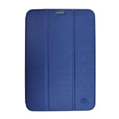 Smile Standing Cover/Sarung Samsung Galaxy Tab S2 8.0 T715 - Deep Blue