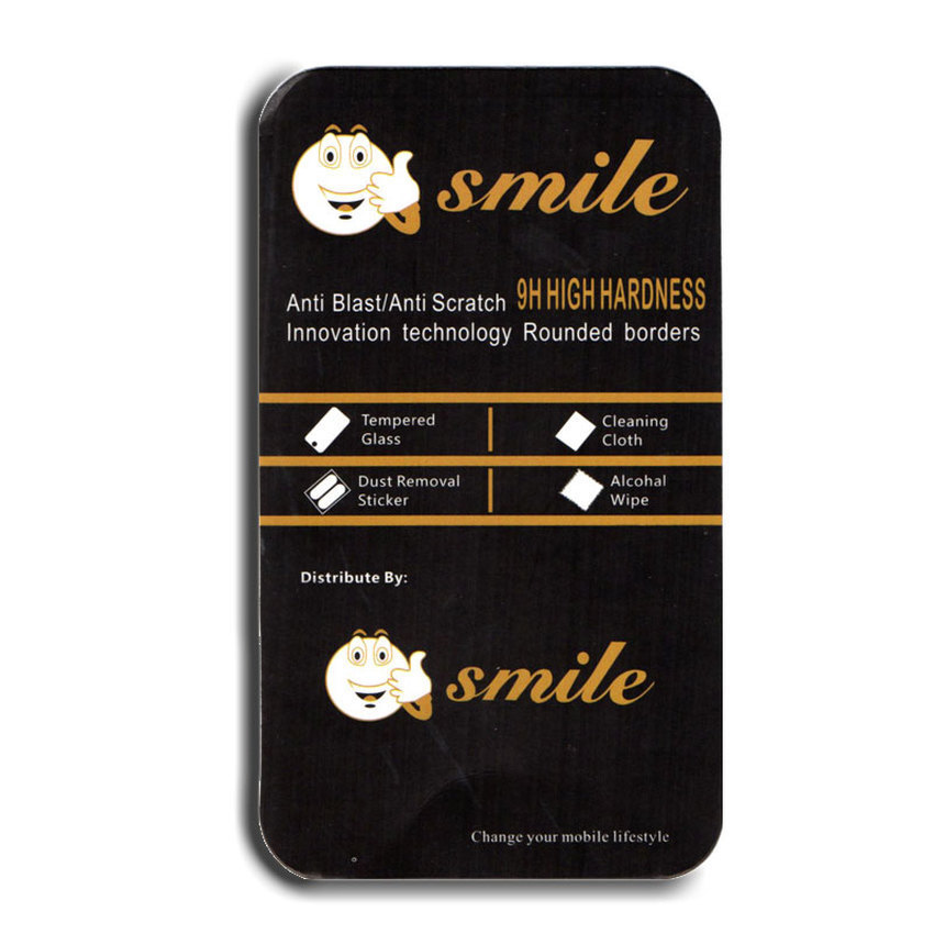 Smile Tempered Glass for Infinix Hot Note X551 - 9H Rounded Edge - 0.33mm - Clear