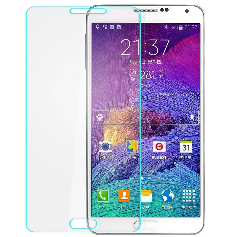 Smile Tempered Glass for Samsung Galaxy On7 -Clear