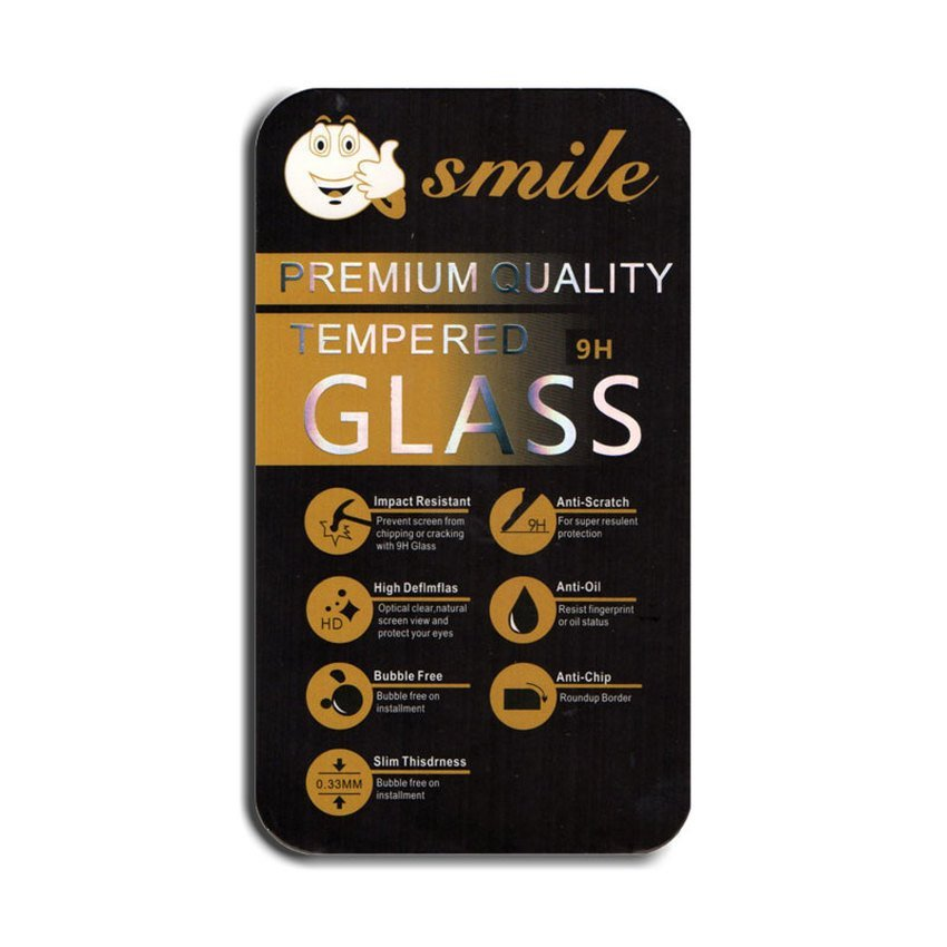 Smile Tempered Glass for Screen Protector for LG Magna - Clear