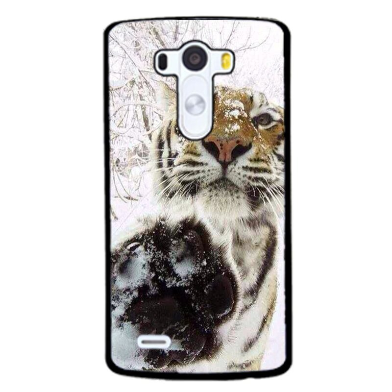 Snow Tigers s Phone Case for LG G3 (Black)