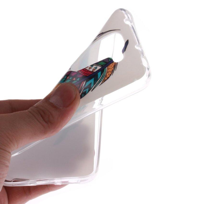 Soft TPU Back Case for LG G2 Mini (White) (Intl)