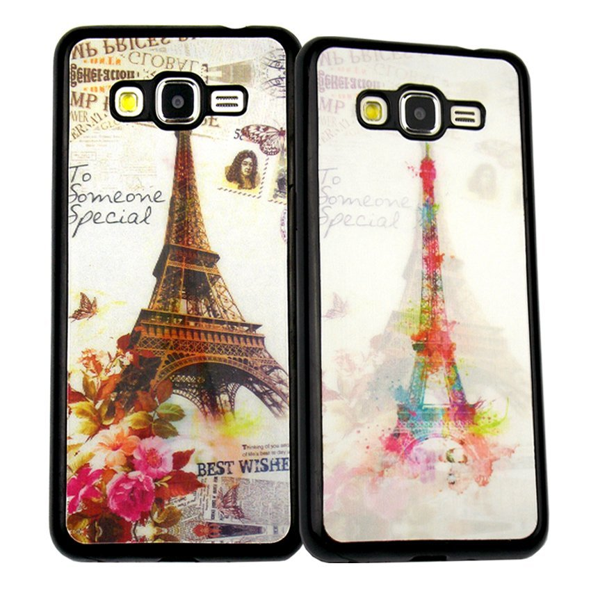 Softcase Fuze Paris 3D Samsung Galaxy  Grand I9082  - Motif 5