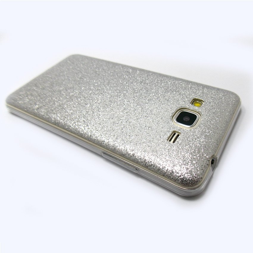 Softcase Glitter Series for Samsung Galaxy Grand Prime G530H - Silver