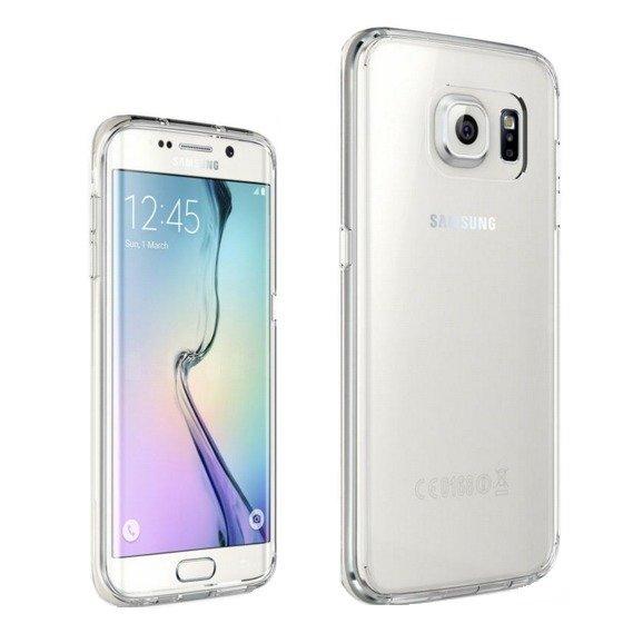 Softjacket Case Samsung Galaxy S7 Edge Soft Jelly ultra thin (Clear)