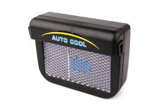 Solar Sun Power Car Auto Air Vent Cool Fan Cooler Ventilation System Radiator durabe clean accessories Rubber YA091-SZ (Intl)