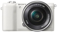 Sony Alpha A5100L kit 16-50mm - 24 MP - White