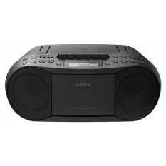 Sony CFD-S70 Portable CD / Cassette Boombox With Radio (Black) - Intl