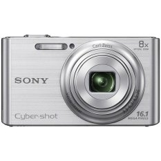 Sony DSC-W730 - 14 MP - 30x Optical Zoom - Kamera Pocket - Silver