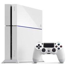 Sony PlayStation 4 500GB CUH-1206A B02 - Glacier White Putih Asia PS4