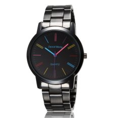 ST 2016 Luxury Watch and Women Fashion Casual Leather Quartz Watches - Intl