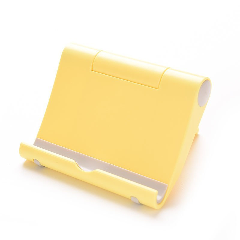 Stand Mount Holder Multi Angle For iPad iPhone Yellow (Intl)