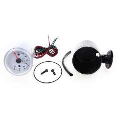 Standard Tachometer Tach Gauge With Holder Cup For Auto Car 2.52mm 0~8000RPM Blue LED Light (Intl)