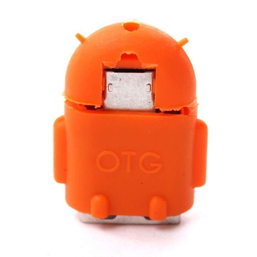 Stichi OTG Adapter Micro USB - Oranye