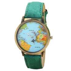 Stylish Design And Simple Style Ladies Watch (Green)