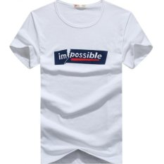Summer Men's Classic Logo Impossible Short Sleeve T Shirt