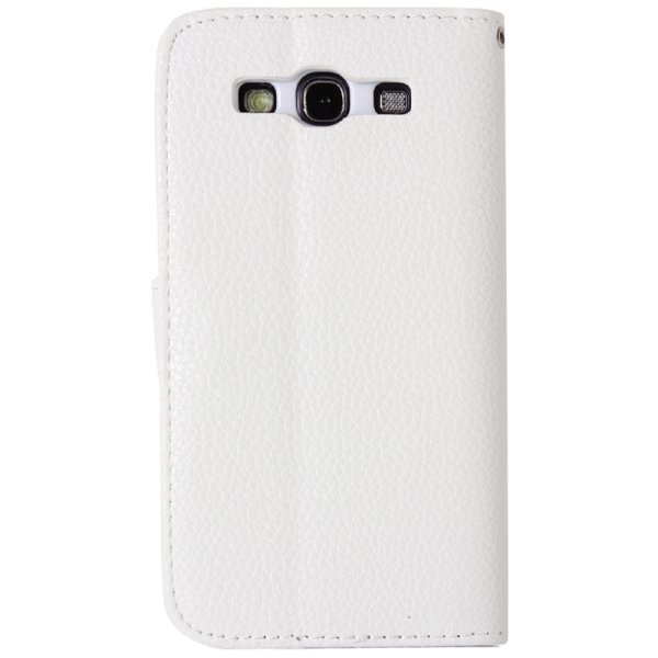 SUNSKY Diamond Encrusted Pattern Horizontal Flip Leather Cover with Holder Card Slots for Samsung Galaxy A5 (White) (Intl)