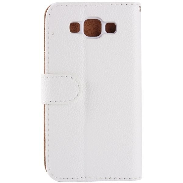 SUNSKY Diamond Encrusted Pattern Horizontal Flip Leather Cover with Holder Card Slots for Samsung Galaxy A8 (White) (Intl)
