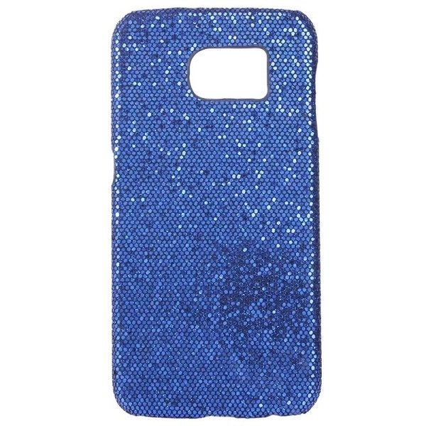 SUNSKY Flash Powder Skin Paste Plastic Protective Case for Samsung Galaxy Note 5 / N920 (Dark Blue) (Intl)