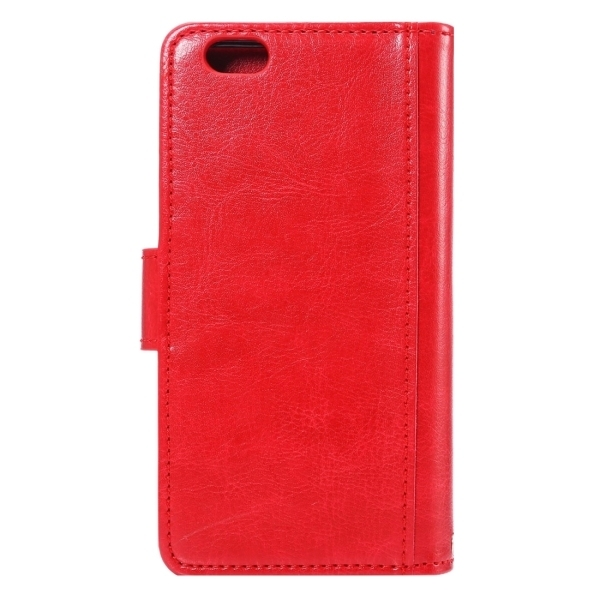 SUNSKY Flip Leather Wallet Cover for iPhone 6 Plus & 6s Plus (Red) (Intl)