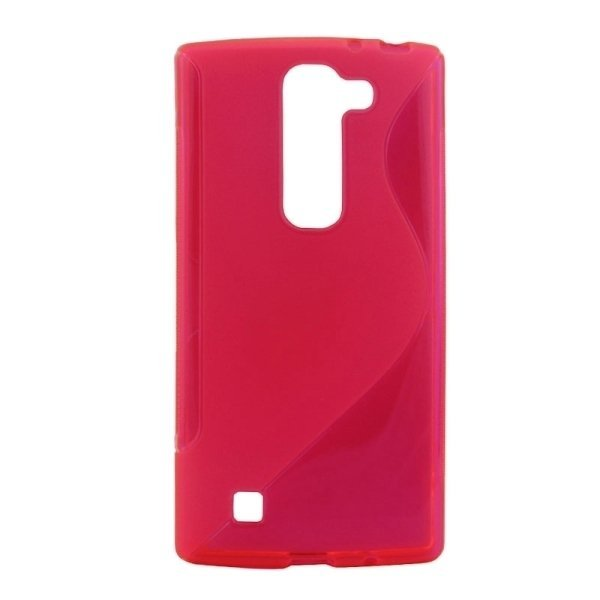 SUNSKY S Line Anti-slip Frosted TPU Protective Case for LG G4C / C90 / Magna H520N / G4 mini / H525N (Pink) (Intl)