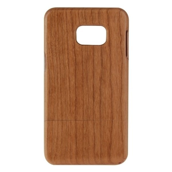 SUNSKY Separable Cherry Wooden Back Case for Samsung Galaxy S6 edge+ / G928 (Brown) (Intl)