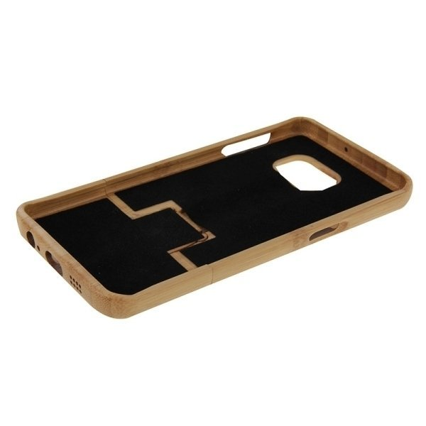 SUNSKY Tree Pattern Separable Bamboo Wooden Back Case for Samsung Galaxy S6 edge+ / G928 (Brown) (Intl)