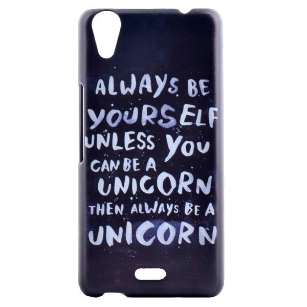 SUNSKY Words Patterns PC Protective Case for Wiko Rainbow Up (Black) (Intl)