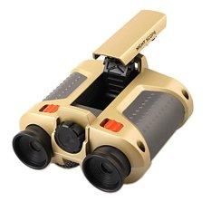Super Night Scope 4 x 30mm Binoculars with Pop-Up Light / Teropong
