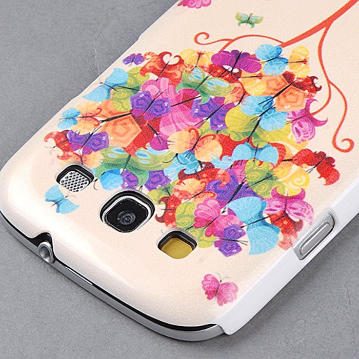 Supercart PC Tree Pattern Hard Back Case for Samsung Galaxy S3 SIII S111 i9300 (Multicolor) (Intl)