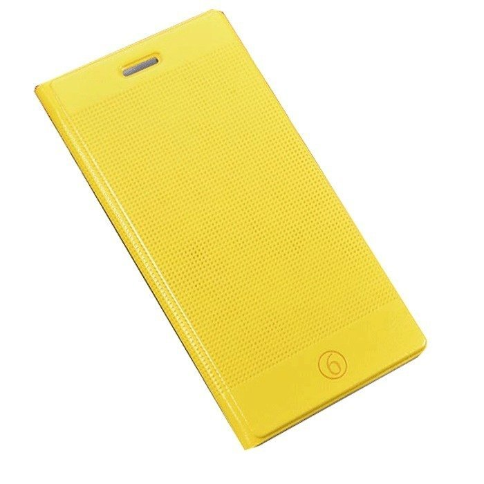 Supercart PU Luxury Slim Flip Stand Cover for Apple iPhone 6/6 Plus 4.7''/5.5'' (Yellow) (Intl)