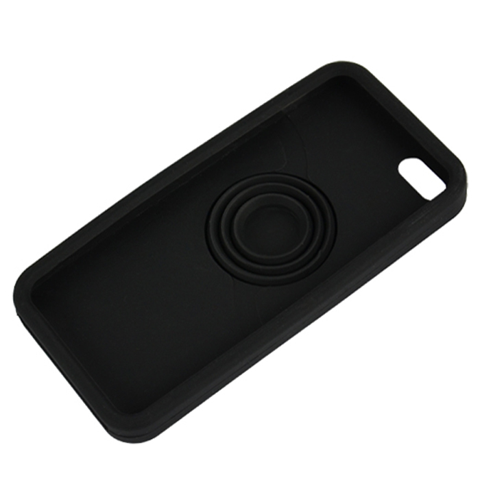 Supercart Soft Silicone Camera Pattern Back Case for iPhone 5 5G New (Black) (Intl)