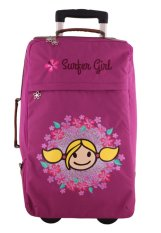 Surfer Girl Bags 2WH SB Weekend Gateaway Cabin Trolley - Ungu