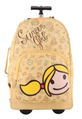 Surfer Girl Bags 2WH TD Backpack Trolley - Kuning