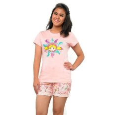 Surfer Girl Bicos Top - Pink