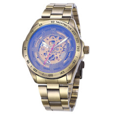 Svoovs Vintage Shenhua Shenhua Bronze Hollow Automatic Mechanical Watches Male EBay Hot Spot Wholesale