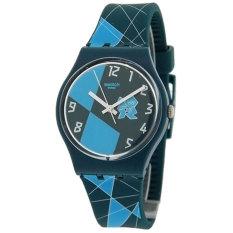 Swatch Jam Tangan Wanita - Resin - Biru Navy - SWATCH GZ267